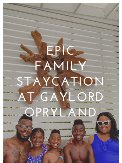 An Epic Staycation at Gaylord Opryland Resort